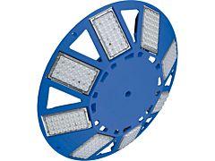 Großflächenleuchte N8LED 2.0 230VAC/dimmbar/blau