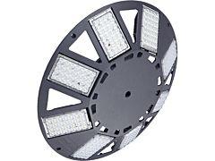 Großflächenleuchte N8LED 2.0 230VAC/dimmbar/grau