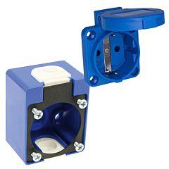 Aufbaugehäuse inkl. Schutzkontaktsteckdose 3 pol./230V/16A/IP54