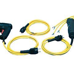 Geräteanschlussleitung HT/H07RN-F/2X1,0mm²/3m