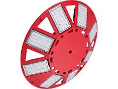 Großflächenleuchte N8LED 2.0 230VAC/dimmbar/rot