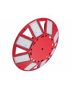 Großflächenleuchte N8LED 2.1 230VAC/dimmbar/rot