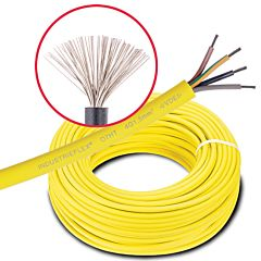 Spezial-Leitung INDUSTRIEFLEX 07HT 5G4,0mm²/100m Ring
