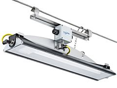 LED-Drahtseilleuchte ALFLED DS 52W/220-240VAC/6.500lm/0°