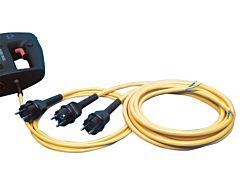 Geräteanschlussleitung G05/H05BQ-F/2X1,0mm²/5m