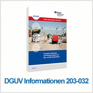 DGUV 203-032