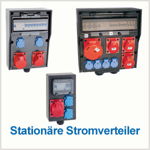 Stationaere Stromverteiler